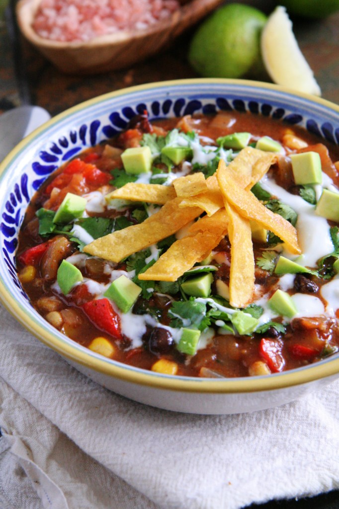 Weeknight Chicken Tortilla Soup