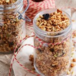 Cherry Almond Granola with Honey & Vanilla