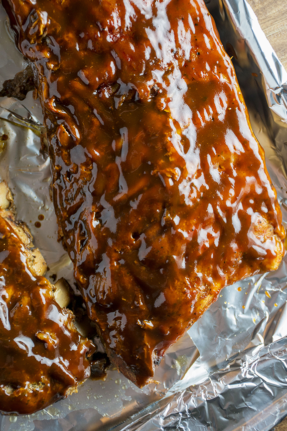 Sweet & Smoky Slow Cooker Ribs