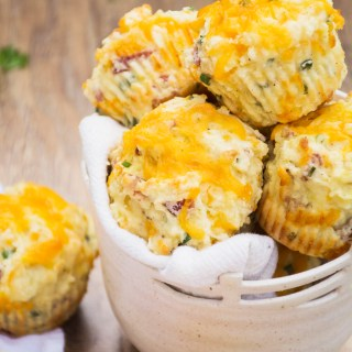 Fully-Loaded Baked Potato Muffins