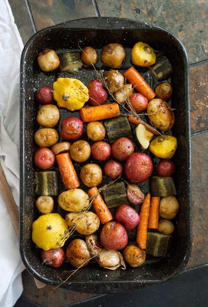 Vinegar-Roasted Vegetables