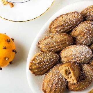 Orange Spice Madeleines