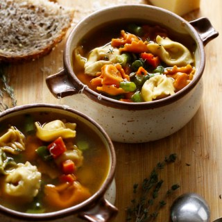 20-Minute Tortellini Soup