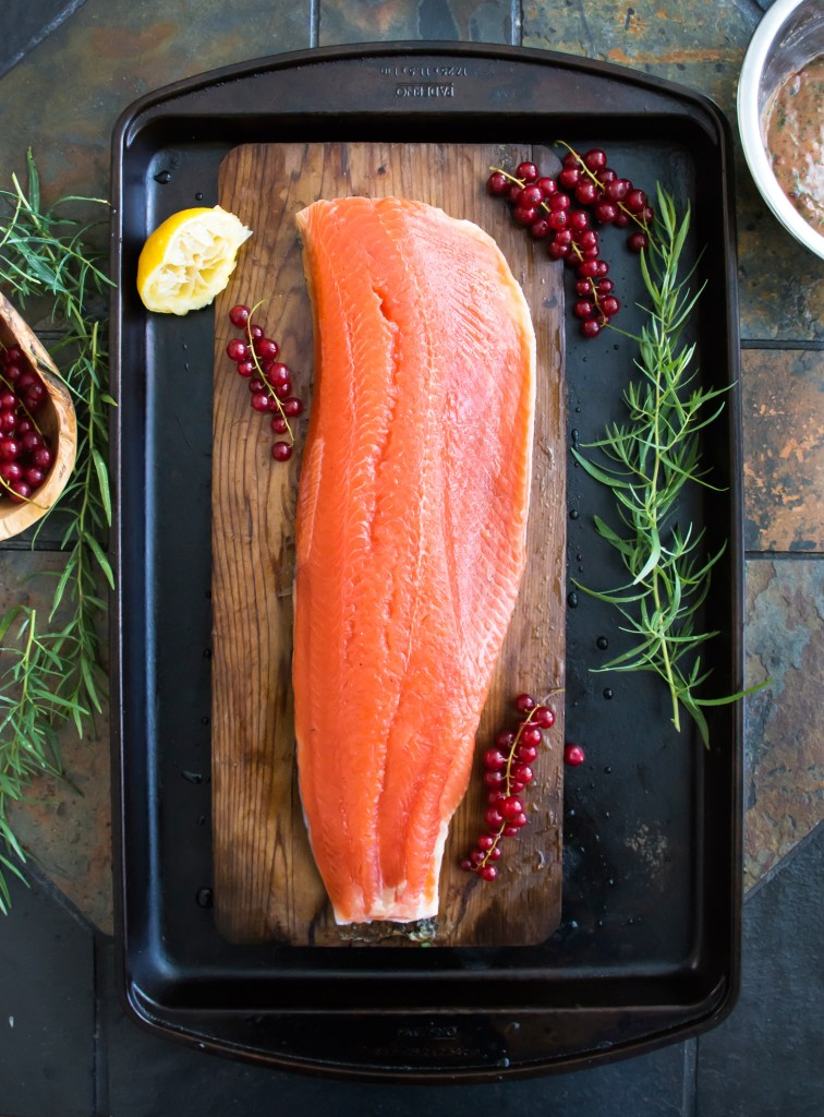 Best Ever Cedar Plank Salmon