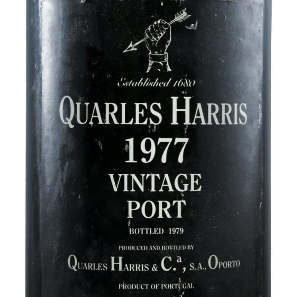 Quarles_Harris_Vintage_1977_label