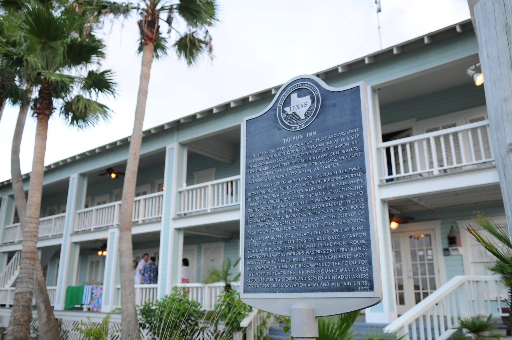 The Tarpon Inn in Port Aransas TX | www.portaransastex.com