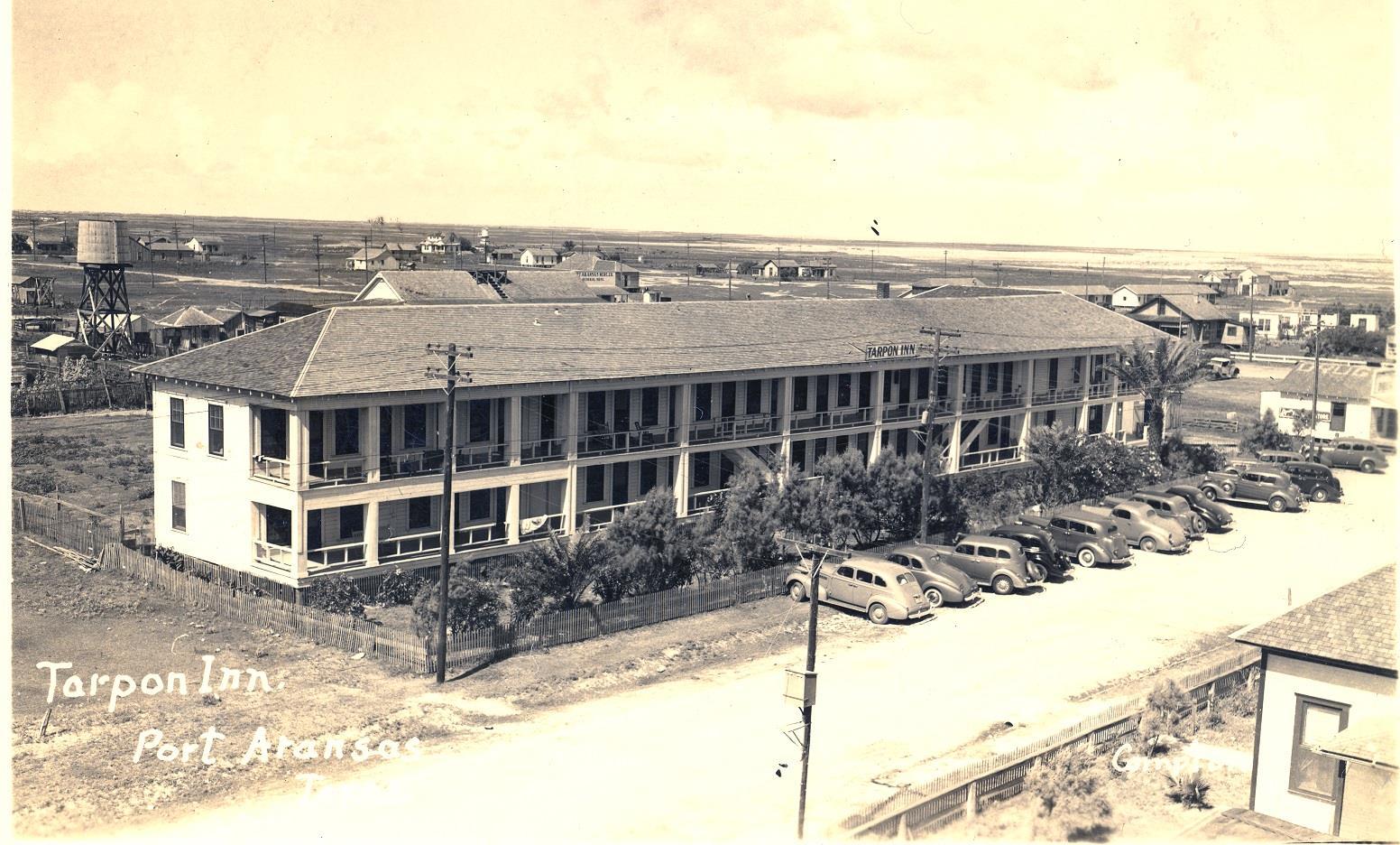 The Tarpon Inn in 1938 | www.portaransastex.com