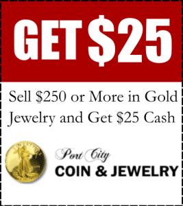 Port city coin 25 dollar coupon