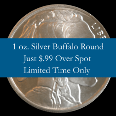silver buffalo round for sale
