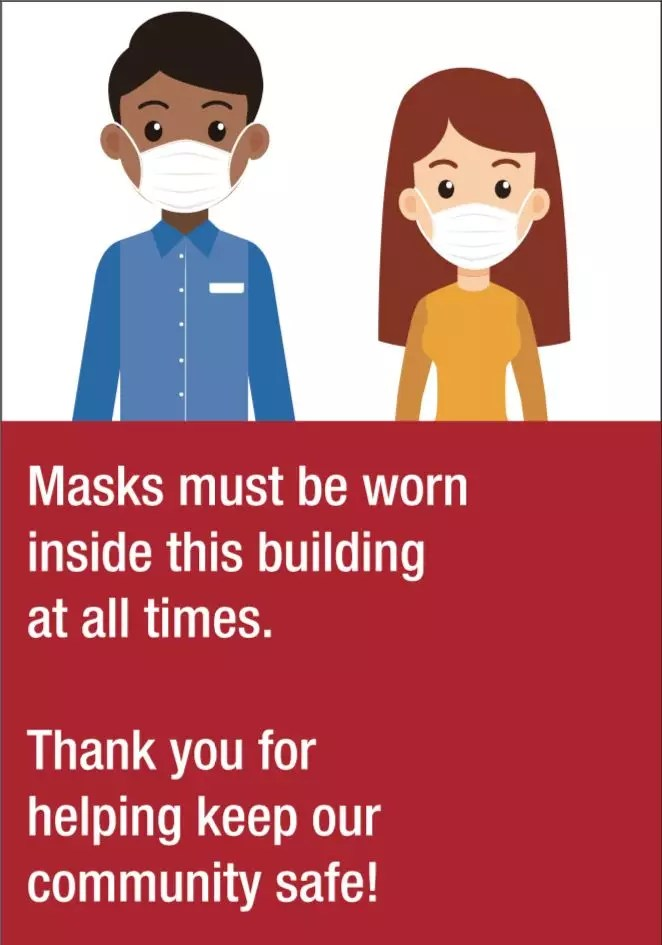 Safety Signs - Mask Awareness