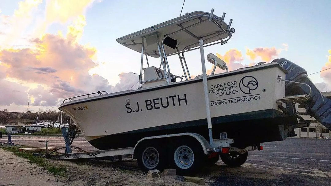 CFCC boat with print and cut graphics