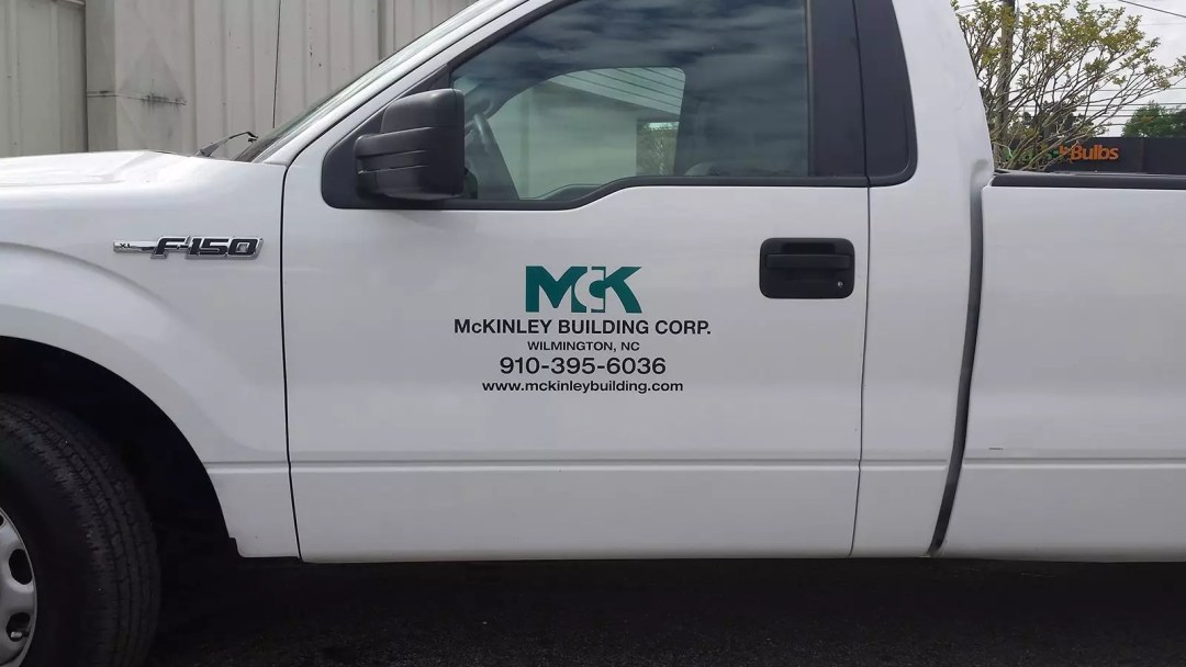 McKinley Building Corp. print and cut graphics