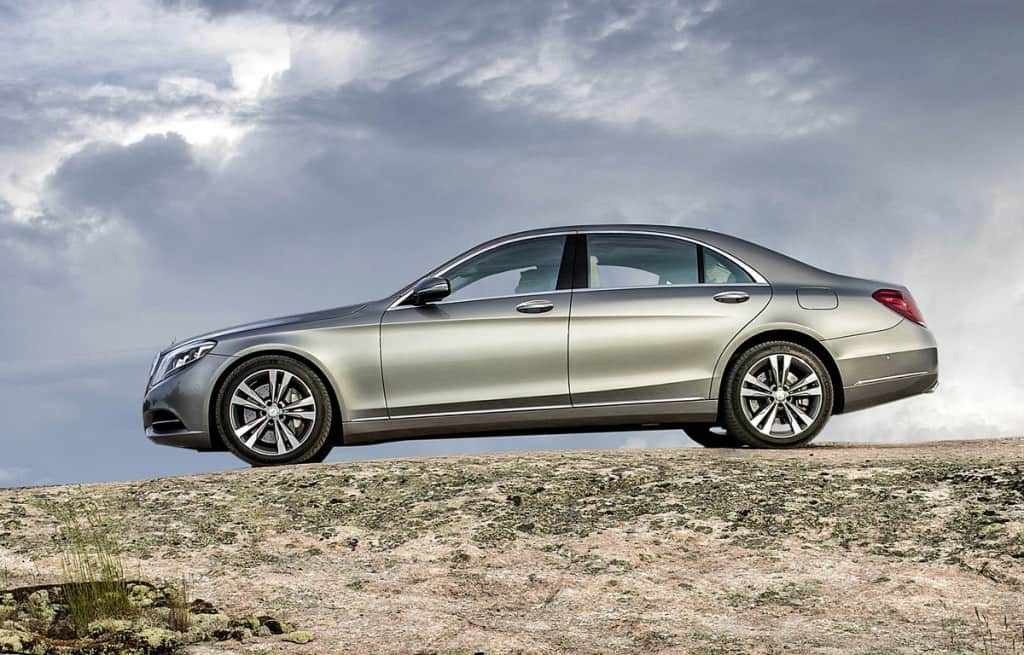 Portcullis Executive Travel | Mercedes Benz S-Class Hire
