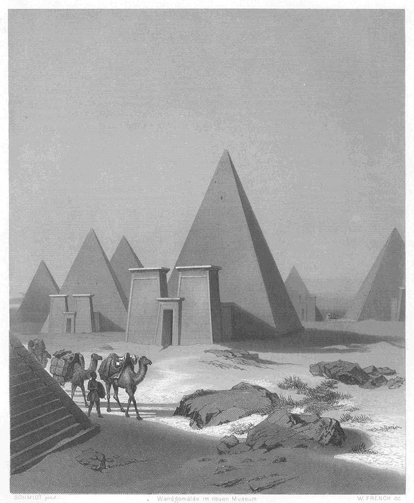 Pyramides de Méroé la cité antique