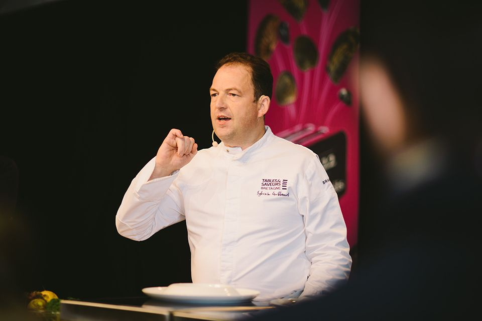 Le chef Sylvain Guillemot au Sea Food 2016