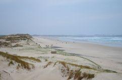 Panorama de la plage de Tronoën, fief de l'école de surf du 29 Hood