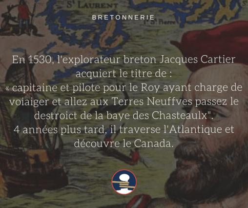 Bretonnerie : Jacques Cartier, le capitaine corsaire