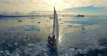 Un aventurier breton à l'assaut du Groenland