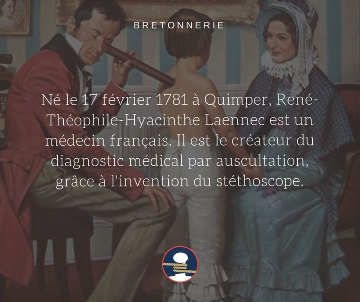 Bretonnerie : le médecin quimpérois Théophile-Hyacinthe Laennec