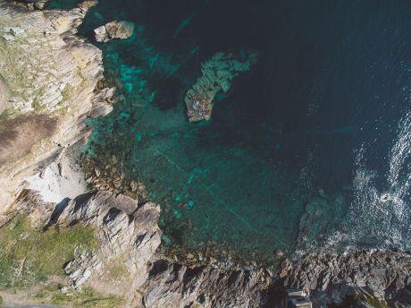 La roche de kermorvan