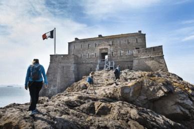 Saint-Malo (35) : le Fort du Petit Bé