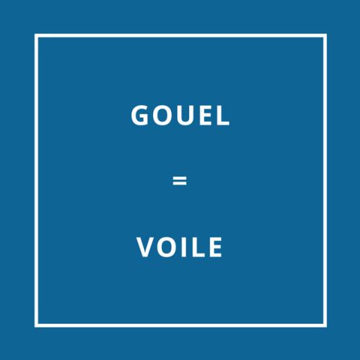 Traduction bretonne : GOUEL = VOILE