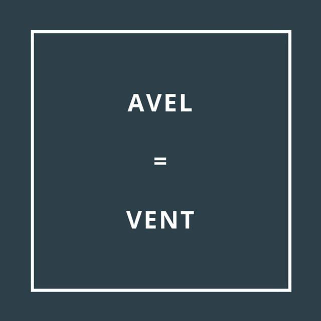 Traduction bretonne : AVEL = VENT