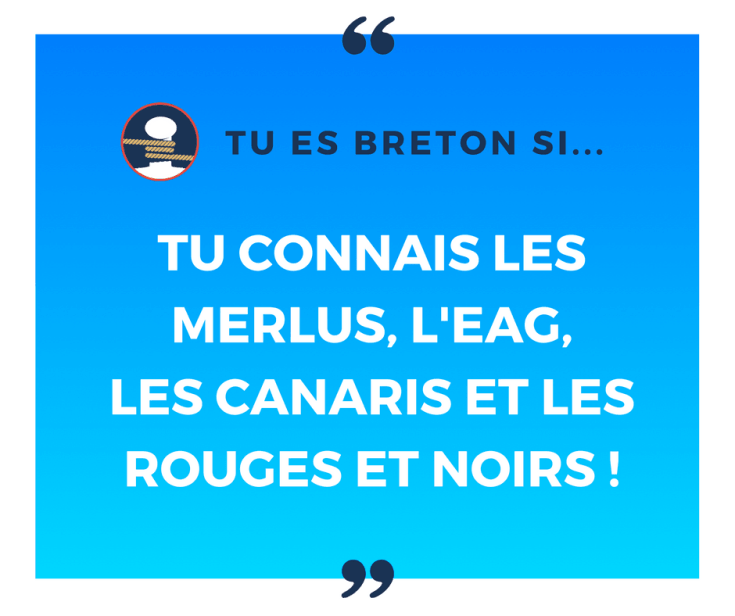 Tu es breton si tu as un club de foot breton dans ton cœur !