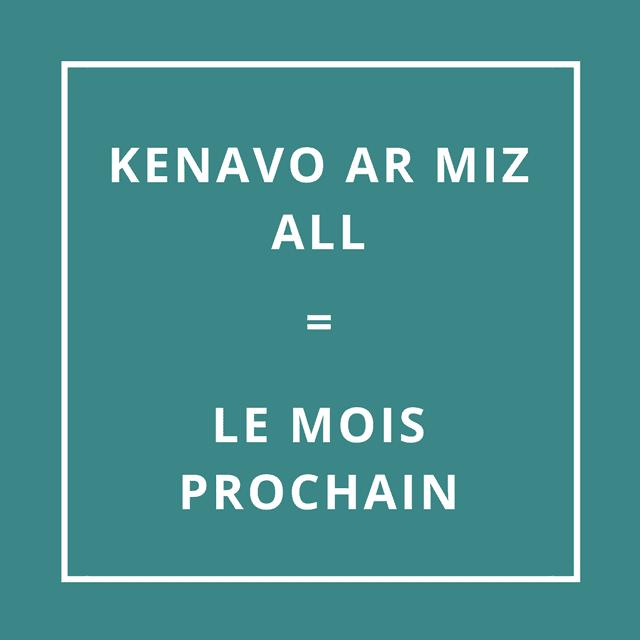 """""""Au revoir et au mois prochain"""" en breton"""
