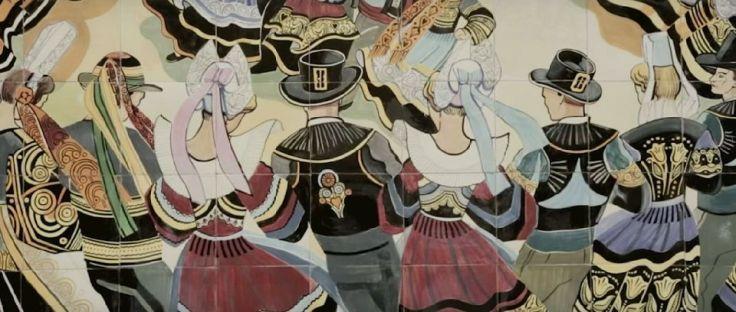 Frise danseurs de cornouaille