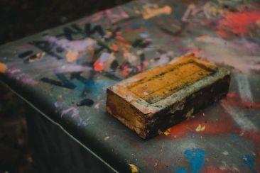 Cadavre d'un savon de la fonderie abandonnée