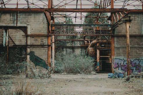 Quand le street-art prend possession d'un lieu d'Urbex