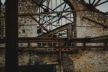 Un vrai décor de film cette ancienne fonderie à savon !