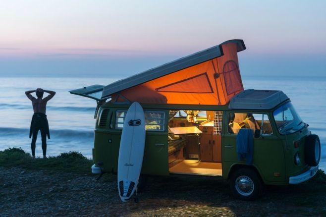 Le lifestyle du surfeur breton