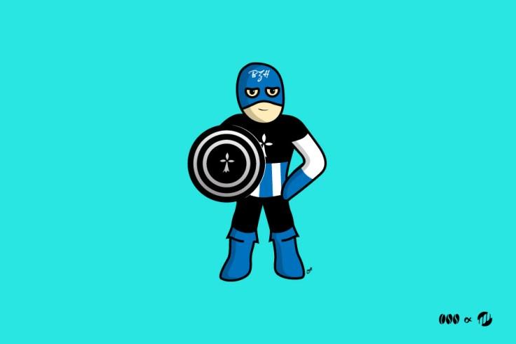 Captain BZH - BD bretonne