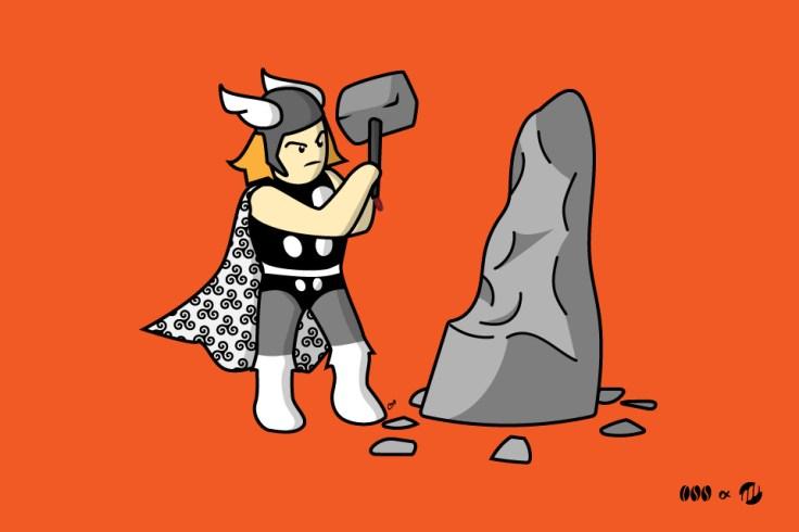 Thor, le tailleur de Menhir - BD bretonne