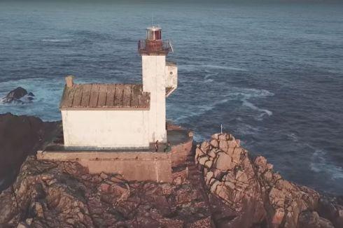 Le phare de Tévennec ne demande qu'à être rénové !