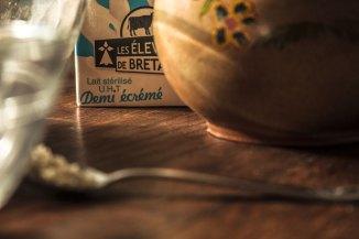 Le lait demi-écrémé est le meilleur pour les galettes !