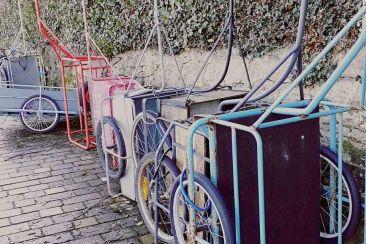 Les charrettes de L'Île-aux-Moines