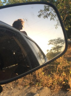 Axel dans le pickup