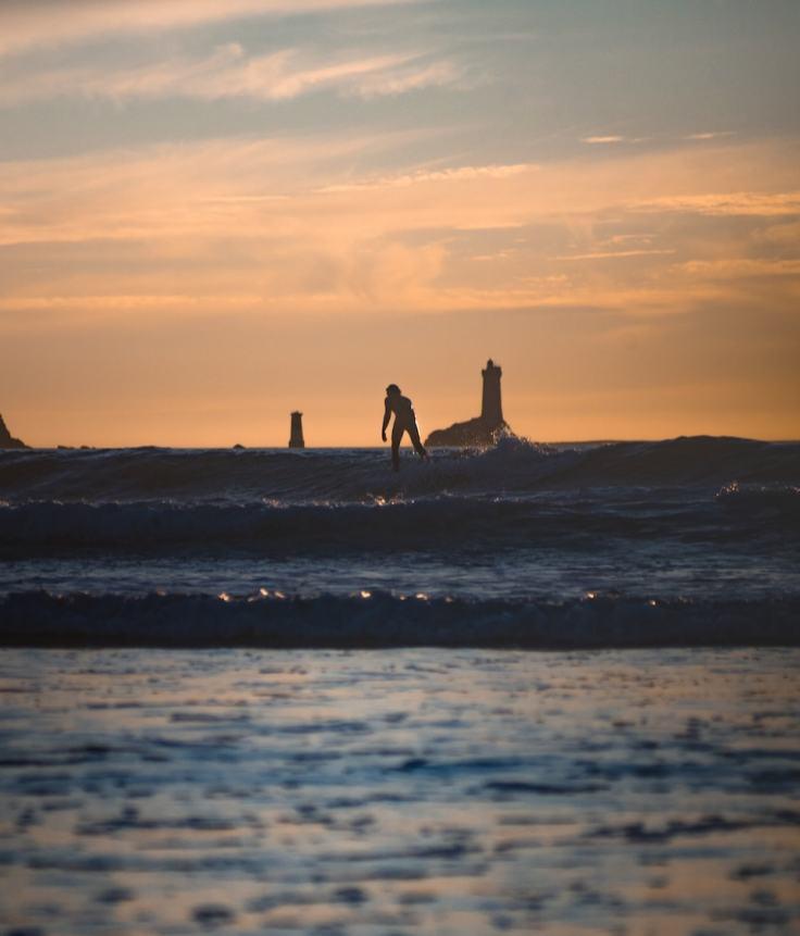 Le spot de surf breton le plus phare ouest