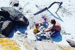 L'île de Batz en famille, jouer les Robinsons