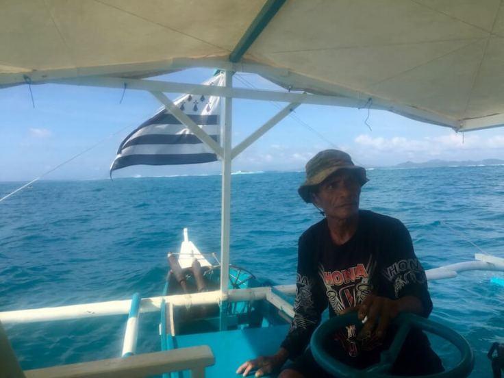Bretons du monde Surftrip Océan Pacifique Siargao Philippines drapeau breton