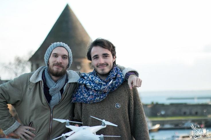 Deux bretons et un drone filment les plus beaux sites bretons