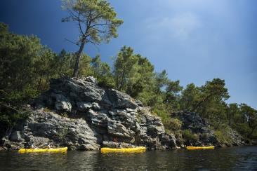 Activités sportives pour les vacances au Lac de Guerlédan