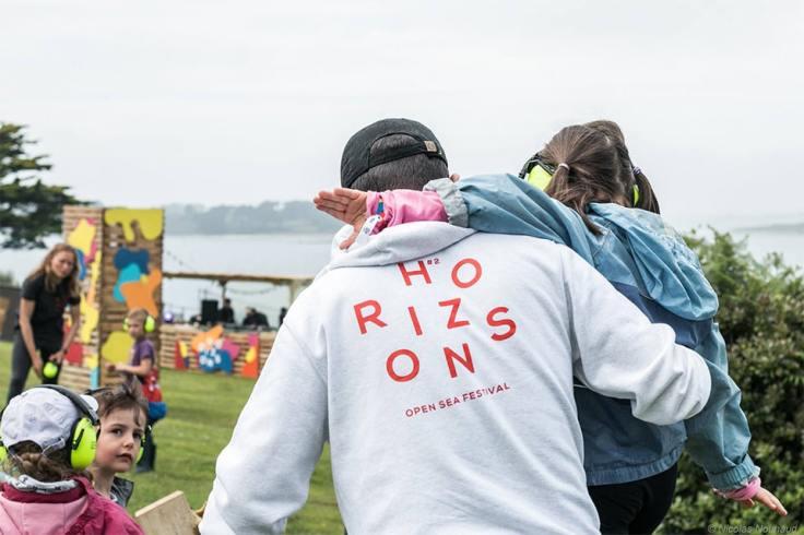 Le coin enfant du festival Horizons en Bretagne