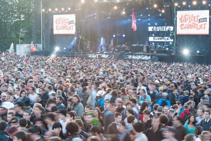Festival des Vieilles Charrues à Carhaix