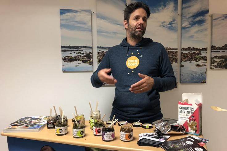 Dégustation de produits à base d'algues avec Hugo Morel