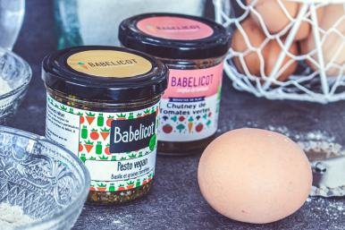Que de bons ingrédients pour la recette de raviolis au pesto et chutney Babelicot