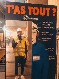 Liste des équipements de sécurité demandé pour visiter un barrage français